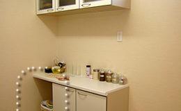 笑顔の集う家 キッチン棚