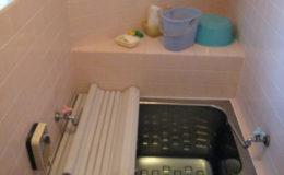 【浴室】浴槽は足も伸ばせず圧迫感があった空間が・・・