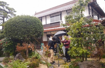 【2014年12月23日放送】八頭町の「古民家再生物件」取材いただきました。