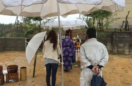 浜坂 M様邸 無事地鎮祭を行いました