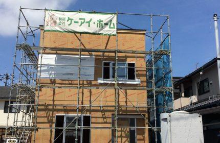 鳥取市南安長 M様邸 建前が終わりました