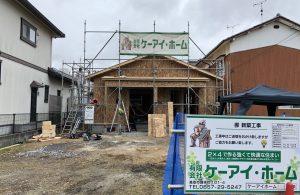 地区 集会所新築工事 建前